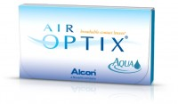 линзы AIR OPTIX Aqua (6 шт.)