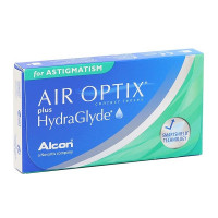 линзы Air Optix plus Hydraglyde for Astigmatism (3шт.)